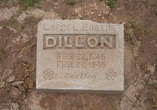 DILLON, LAUREL EUGENE - Baca County, Colorado   LAUREL EUGENE DILLON - Colorado Gravestone Photos