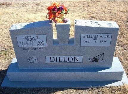 DILLON, LAURA R - Baca County, Colorado | LAURA R DILLON - Colorado Gravestone Photos