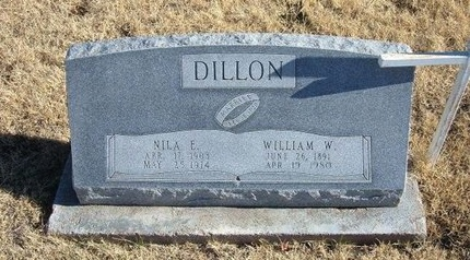 DILLON, NILA E - Baca County, Colorado | NILA E DILLON - Colorado Gravestone Photos