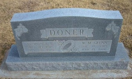 DONER, FLORENCE LUELLA - Baca County, Colorado   FLORENCE LUELLA DONER - Colorado Gravestone Photos