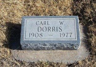 DORRIS, CARL W - Baca County, Colorado | CARL W DORRIS - Colorado Gravestone Photos