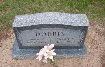 DORRIS, JOHN WESLEY - Baca County, Colorado | JOHN WESLEY DORRIS - Colorado Gravestone Photos