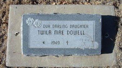 DOWELL, TWILA MAE - Baca County, Colorado | TWILA MAE DOWELL - Colorado Gravestone Photos