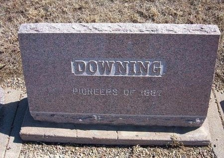 DOWNING FAMILY GRAVESTONE,  - Baca County, Colorado |  DOWNING FAMILY GRAVESTONE - Colorado Gravestone Photos