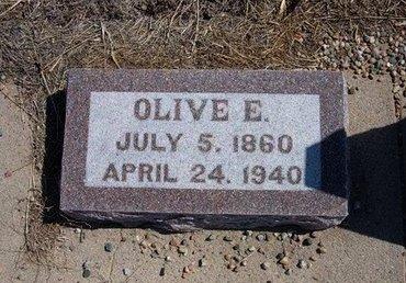DOWNING, OLIVE E - Baca County, Colorado | OLIVE E DOWNING - Colorado Gravestone Photos