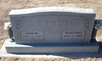 DOYLE, MARGARET - Baca County, Colorado | MARGARET DOYLE - Colorado Gravestone Photos