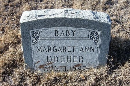 DREHER, MARGARET ANN - Baca County, Colorado | MARGARET ANN DREHER - Colorado Gravestone Photos