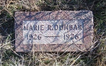 DUNBAR, MARIE R - Baca County, Colorado   MARIE R DUNBAR - Colorado Gravestone Photos