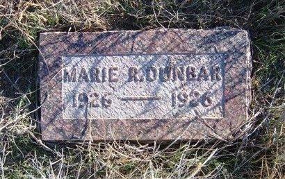 DUNBAR, MARIE R - Baca County, Colorado | MARIE R DUNBAR - Colorado Gravestone Photos
