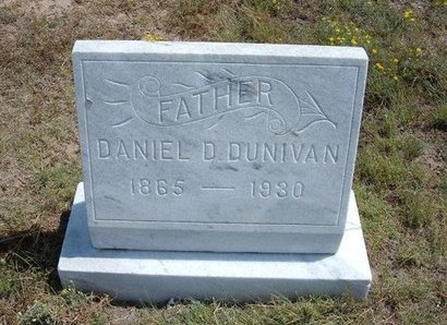 DUNIVAN, DANIEL D - Baca County, Colorado | DANIEL D DUNIVAN - Colorado Gravestone Photos