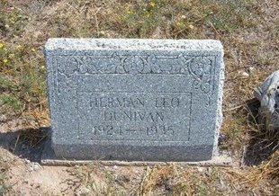 DUNIVAN, HERMAN LEO - Baca County, Colorado | HERMAN LEO DUNIVAN - Colorado Gravestone Photos