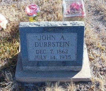 DURRSTEIN, JOHN A - Baca County, Colorado | JOHN A DURRSTEIN - Colorado Gravestone Photos