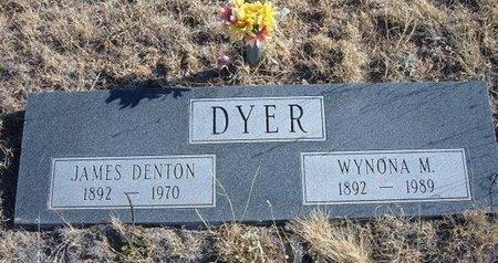 DYER, JAMES DENTON - Baca County, Colorado | JAMES DENTON DYER - Colorado Gravestone Photos