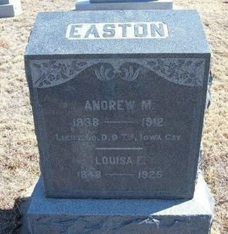 EASTON (VETERAN UNION), ANDREW M - Baca County, Colorado | ANDREW M EASTON (VETERAN UNION) - Colorado Gravestone Photos