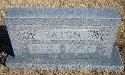 EATON, HAZEL E - Baca County, Colorado | HAZEL E EATON - Colorado Gravestone Photos