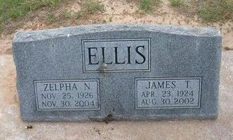 ELLIS, ZELPHA N - Baca County, Colorado | ZELPHA N ELLIS - Colorado Gravestone Photos
