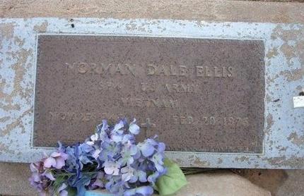 ELLIS (VETERAN VIET), NORMAN DALE - Baca County, Colorado | NORMAN DALE ELLIS (VETERAN VIET) - Colorado Gravestone Photos