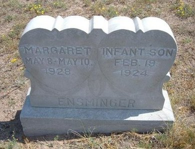 EMSMINGER, MARGARET - Baca County, Colorado | MARGARET EMSMINGER - Colorado Gravestone Photos
