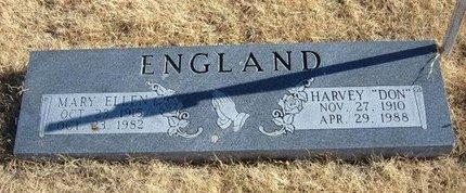 ENGLAND, MARY ELLEN - Baca County, Colorado | MARY ELLEN ENGLAND - Colorado Gravestone Photos