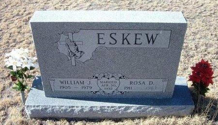 ESKEW, ROSA D - Baca County, Colorado   ROSA D ESKEW - Colorado Gravestone Photos