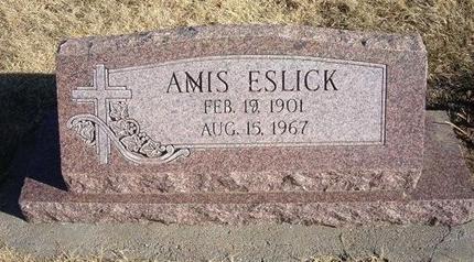 ESLICK, ANIS - Baca County, Colorado | ANIS ESLICK - Colorado Gravestone Photos