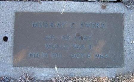 EWERS (VETERAN WWII), MURRAY C - Baca County, Colorado | MURRAY C EWERS (VETERAN WWII) - Colorado Gravestone Photos