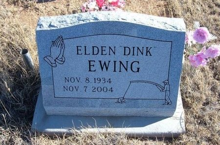 "EWING, ELDEN ""DINK"" - Baca County, Colorado 