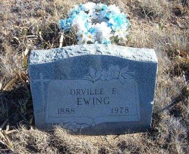 EWING, ORVILLE E - Baca County, Colorado   ORVILLE E EWING - Colorado Gravestone Photos