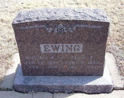 EWING, ELLA A - Baca County, Colorado | ELLA A EWING - Colorado Gravestone Photos