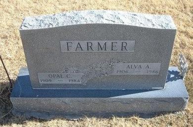 FARMER, ALVA A - Baca County, Colorado | ALVA A FARMER - Colorado Gravestone Photos