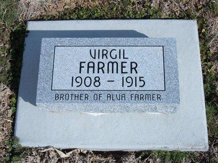 FARMER, VIRGIL - Baca County, Colorado   VIRGIL FARMER - Colorado Gravestone Photos