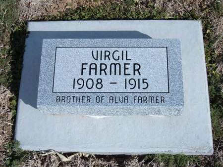 FARMER, VIRGIL - Baca County, Colorado | VIRGIL FARMER - Colorado Gravestone Photos