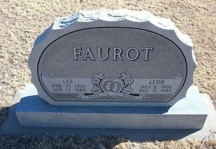 FAUROT, LEE - Baca County, Colorado | LEE FAUROT - Colorado Gravestone Photos