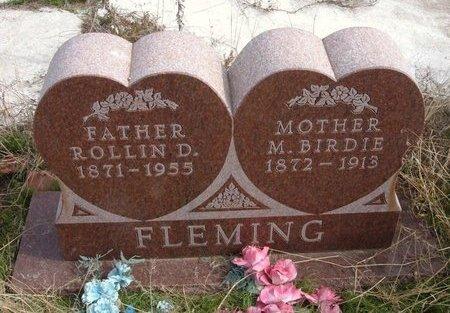 FLEMING, MINTA BIRDIE - Baca County, Colorado | MINTA BIRDIE FLEMING - Colorado Gravestone Photos