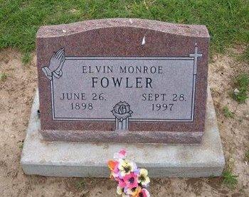 FOWLER, ELVIN MONROE - Baca County, Colorado | ELVIN MONROE FOWLER - Colorado Gravestone Photos