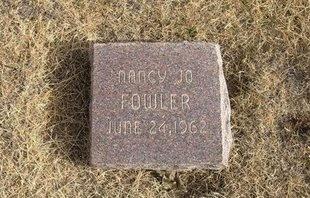 FOWLER, NANCY JO - Baca County, Colorado   NANCY JO FOWLER - Colorado Gravestone Photos