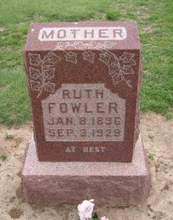 FOWLER, RUTH - Baca County, Colorado | RUTH FOWLER - Colorado Gravestone Photos