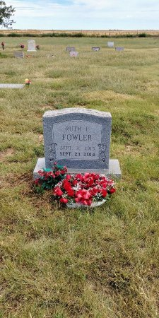 WRAY FOWLER, RUTH - Baca County, Colorado | RUTH WRAY FOWLER - Colorado Gravestone Photos