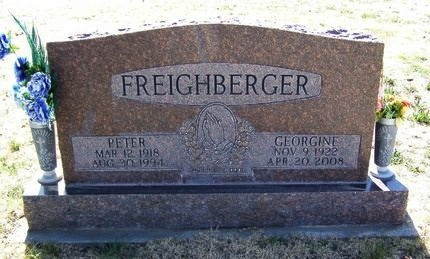 FREIGHBERGER, PETER - Baca County, Colorado | PETER FREIGHBERGER - Colorado Gravestone Photos