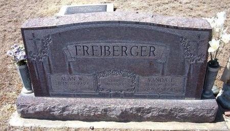 FREIBERGER, VANDA L - Baca County, Colorado | VANDA L FREIBERGER - Colorado Gravestone Photos