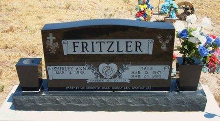 FRITZLER, DALE - Baca County, Colorado | DALE FRITZLER - Colorado Gravestone Photos