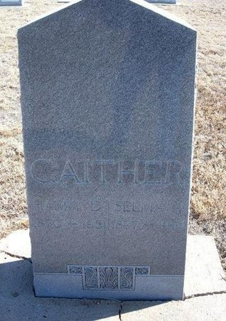 GAITHER, SELMA D - Baca County, Colorado | SELMA D GAITHER - Colorado Gravestone Photos