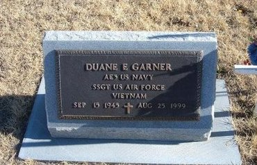 GARNER (VETERAN VIET), DUANE E - Baca County, Colorado | DUANE E GARNER (VETERAN VIET) - Colorado Gravestone Photos