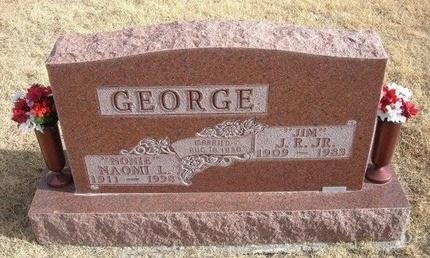 "GEORGE, JR, J R ""JIM"" - Baca County, Colorado | J R ""JIM"" GEORGE, JR - Colorado Gravestone Photos"