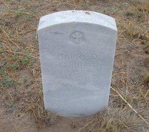 GERBER (VETERAN WWI), HARRY O - Baca County, Colorado | HARRY O GERBER (VETERAN WWI) - Colorado Gravestone Photos