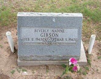 GIBSON, BEVERLY NADINE - Baca County, Colorado | BEVERLY NADINE GIBSON - Colorado Gravestone Photos