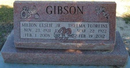 WEBSTER GIBSON, THELMA FLOREINE - Baca County, Colorado | THELMA FLOREINE WEBSTER GIBSON - Colorado Gravestone Photos