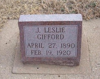 GIFFORD, JAMES LESLIE - Baca County, Colorado | JAMES LESLIE GIFFORD - Colorado Gravestone Photos