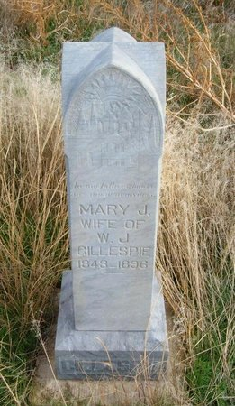 SHAWVER GILLESPIE, MARY JANE - Baca County, Colorado | MARY JANE SHAWVER GILLESPIE - Colorado Gravestone Photos