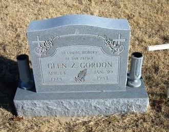 GORDON, GLEN ZETHBERT - Baca County, Colorado | GLEN ZETHBERT GORDON - Colorado Gravestone Photos